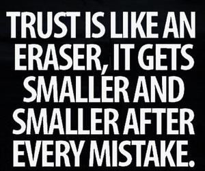 trust, quote, and true image