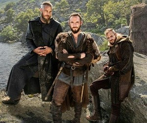drama, series, and vikings image
