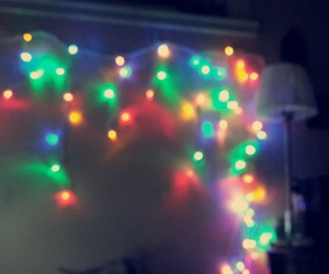 lights, cute, and party image