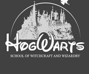 hogwarts, harry potter, and disney image