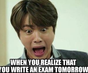 beautiful, crazy, and exam image
