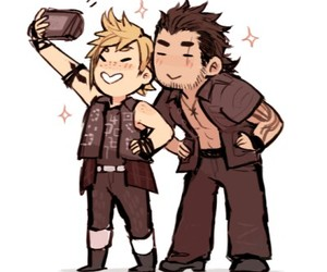 chibi, final fantasy, and gladiolus image