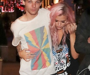 louis tomlinson, lottie tomlinson, and one direction image
