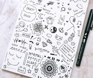 draws, grunge, and tumblr image