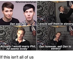dan and phil and danisnotonfire image