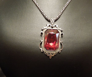 necklace, ruby, and rubies image