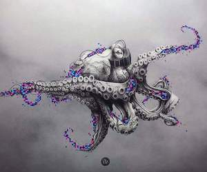 music and octopus image