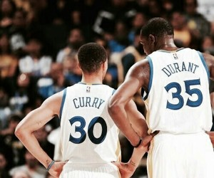 stephen curry, kevin durant, and Basketball image