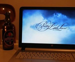 cider, laptop, and light up image