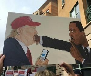 asshole, idiot, and trump image