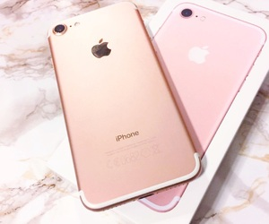 apple, iphone, and marble image