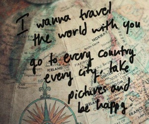 countries, wanderlust, and happiness image