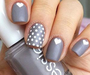valentine nail art image