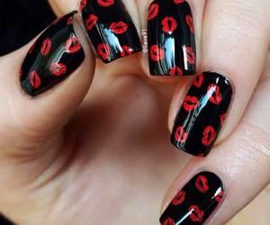 valentine nails image