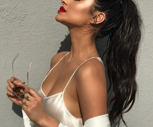 beauty, shay mitchell, and makeup image