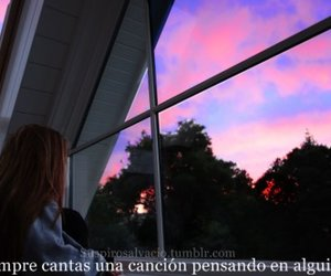 cancion, triste, and frases image