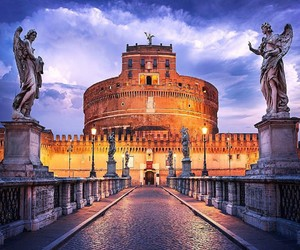 travel, italy, and rome image