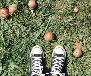 apple and converse image
