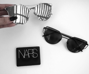 nars, sunglasses, and black image