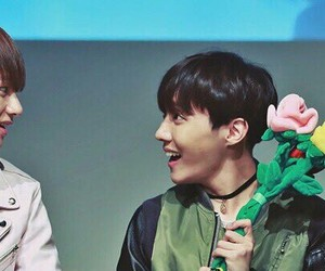 couple, jhope, and vhope image