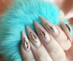 accessories, makeup, and nails image