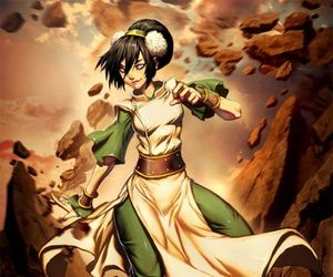 toph, avatar, and avatar the last airbender image