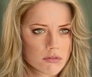 amber heard and fan art image