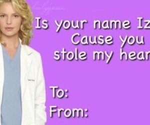 greys anatomy and valentines cards image