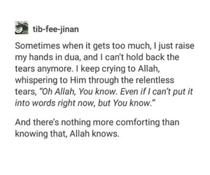allah, cry, and crying image