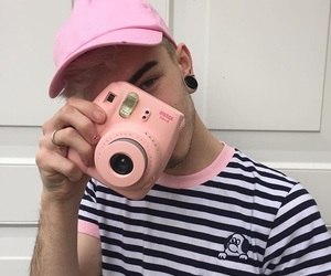 boy, lazy oaf, and pink image