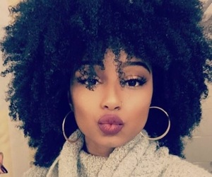 curls, curly, and makeup image