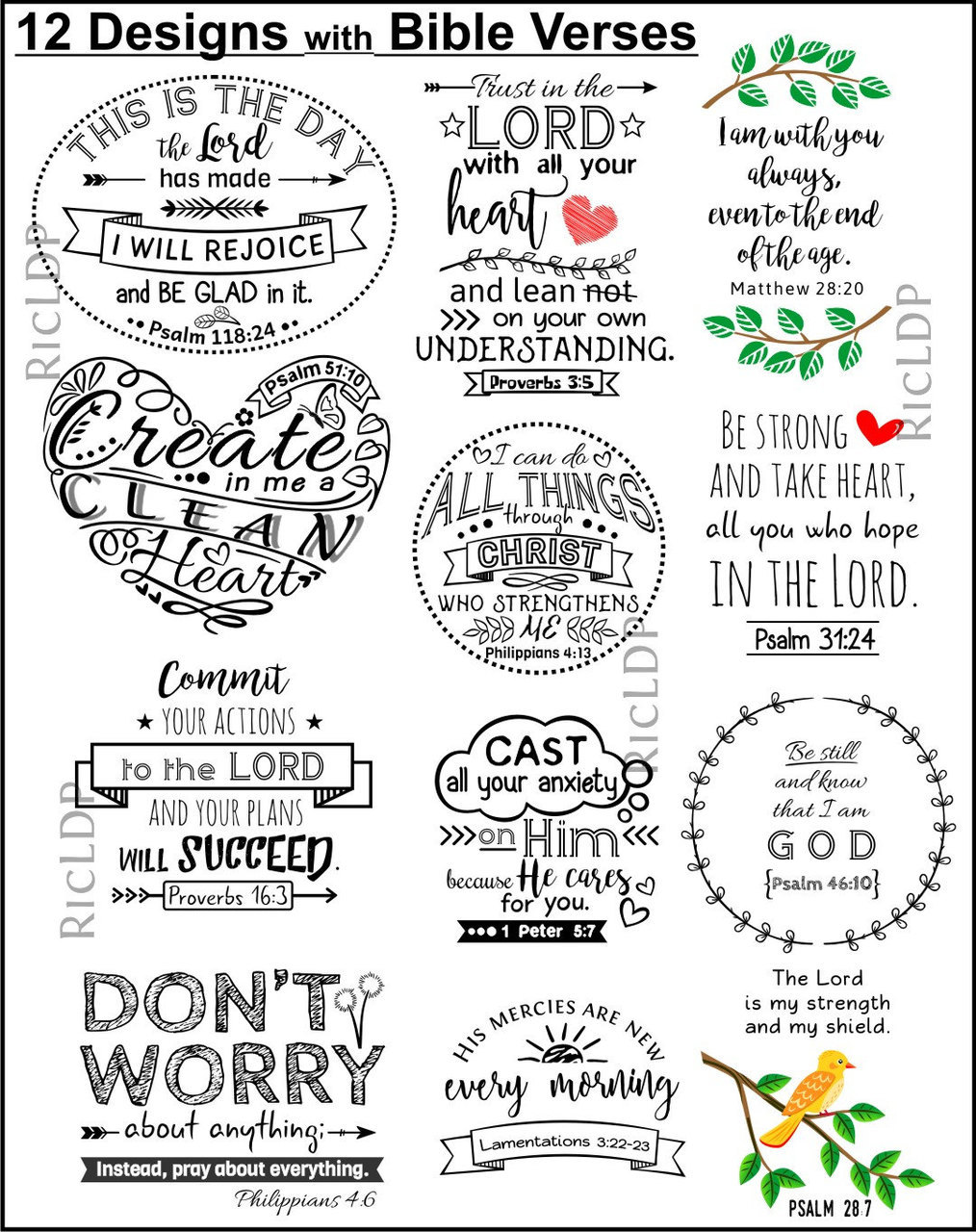 image regarding Who I Am in Christ Printable Bookmark identified as 12 Printable Stickers and Corner Webpage Bookmarks with