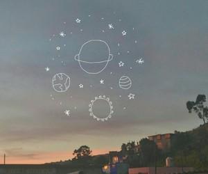 planets, sky, and sun image