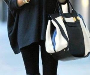bag, style, and girl image