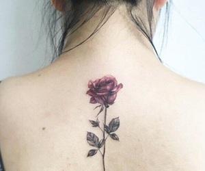 rosa, tatto, and tatuaje image