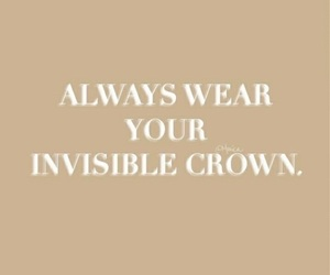 crown, quotes, and words image