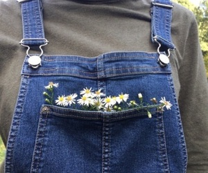 fashion, flowers, and tumblr image
