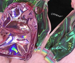 holographic, cry baby, and crybaby image