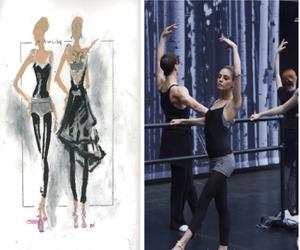 ballet, black swan, and boceto image