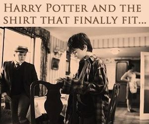 harry potter, shirt, and funny image