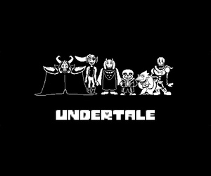 wallpaper, fondo de pantalla, and undertale image
