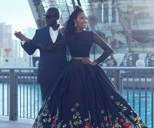 couple, dress, and happy image