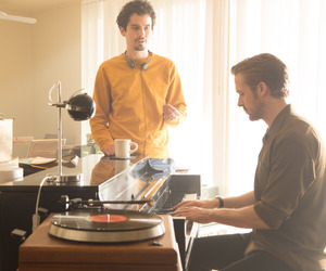 la la land, ryan gosling, and damien chazelle image