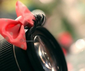 bow, camera, and red image