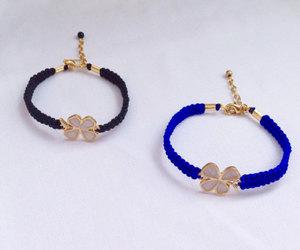 etsy, gold, and handmade bracelet image