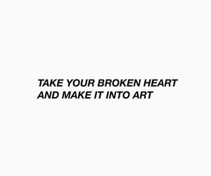advice, art, and breakup image