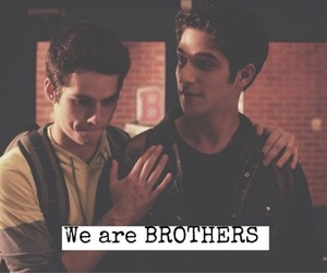 brothers, scott, and teen wolf image