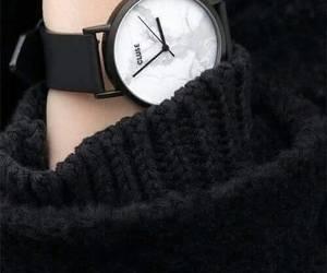 watch, black, and fashion image