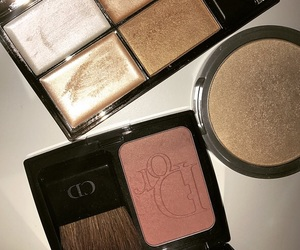 beauty, glam, and highlighter image