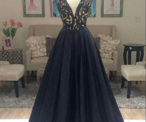 dress, long prom dress, and prom dresses image